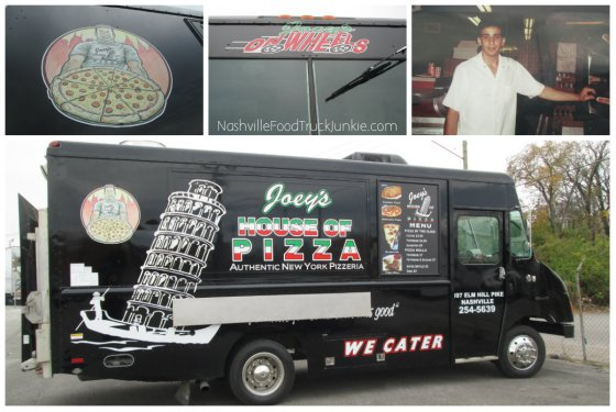 Joey's House of Pizza Truck - Joey's On Wheels