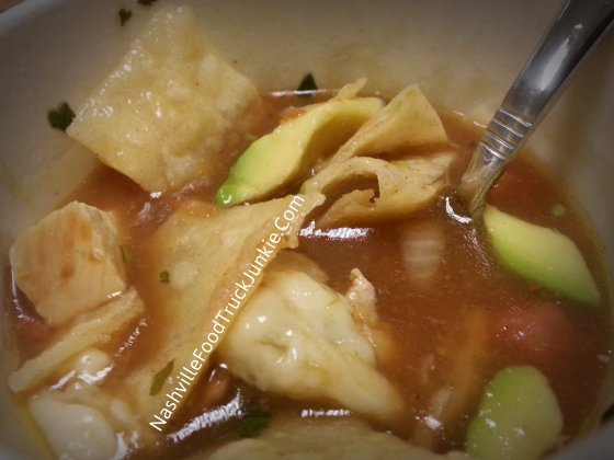 The Rolling Feast - Spicy Chicken Tortilla Soup